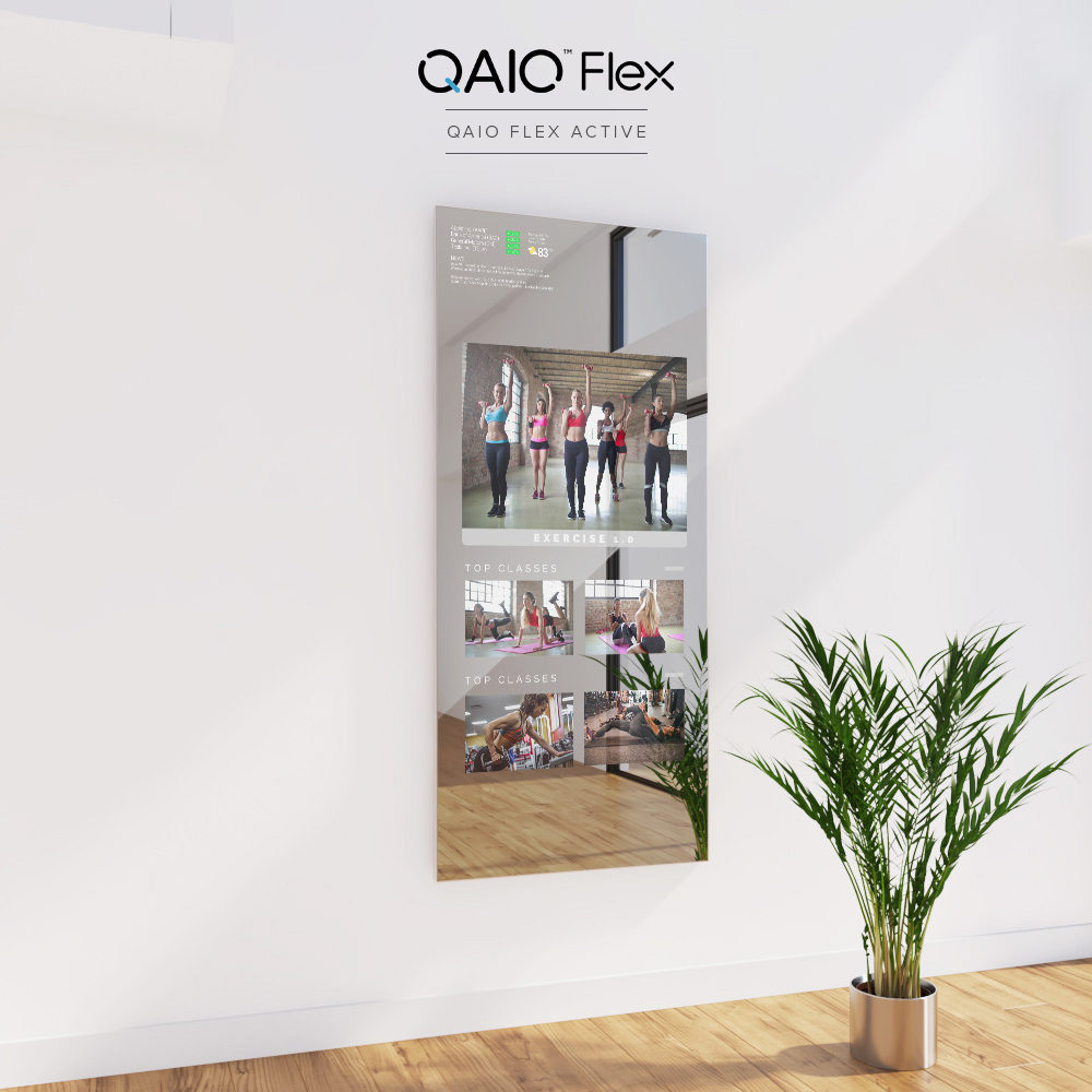 Stay at home and stay fit in an interactive way with Qaio Flex.