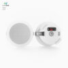 Provides high-quality sound without cluterring your decor.