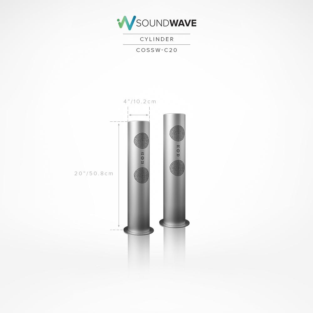 SoundWave Cylinder 30″ (COSSW-C30)