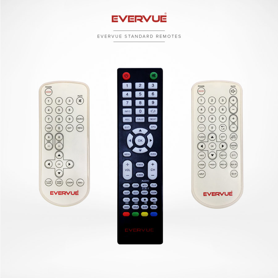 Full function standard remote controls are user-friendly and lightweight.