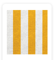 Neoprene Cover – Yellow and White Stripes (COSNC-32-STRYellow)